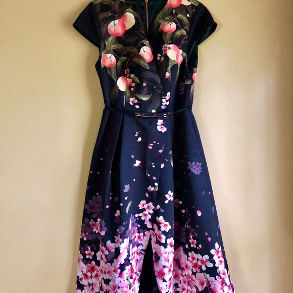 recognized brands reputable site latest discount Ted Baker Dresses | Fredica Peach Blossom Dress | Poshmark